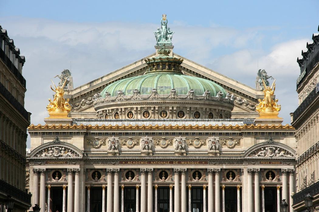 Classic Paris The Opera Garnier Eat Drink Shop And