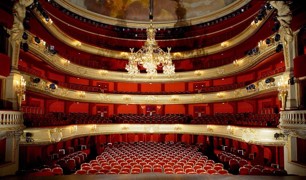 Com die fran aise th tre du vieux colombier rennes - Plan salle theatre porte saint martin ...