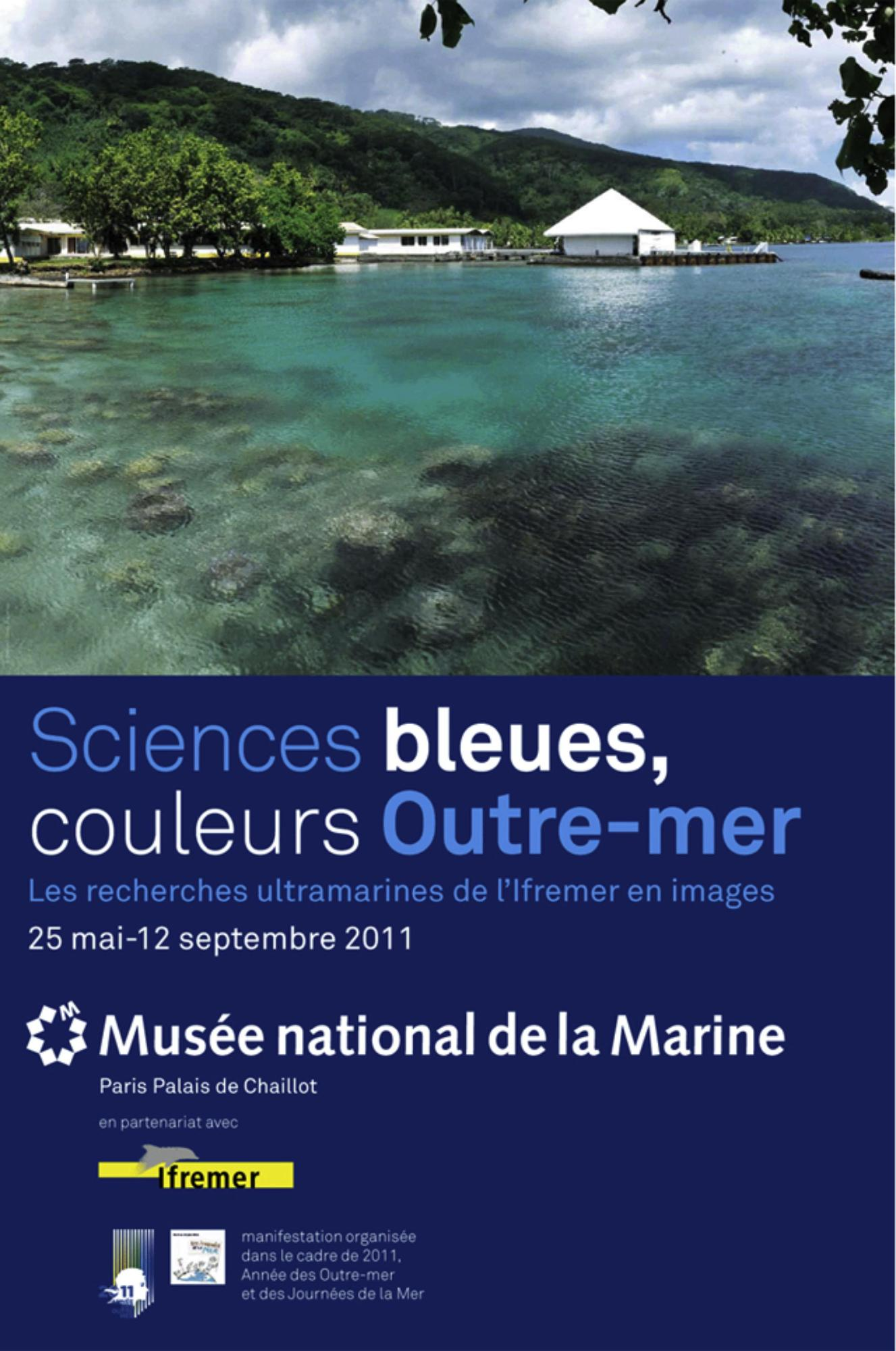 Sciences bleues, couleurs Outre-mer  à Paris