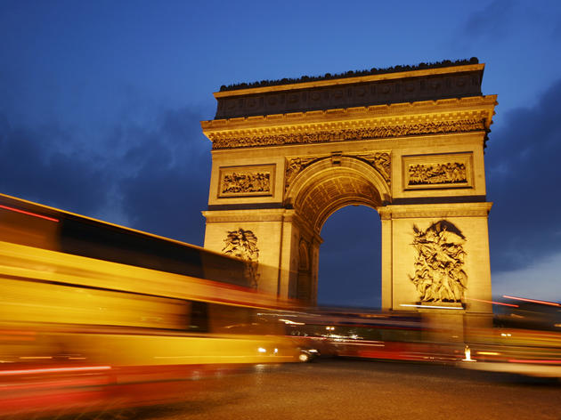 Climb the Arc de Triomphe