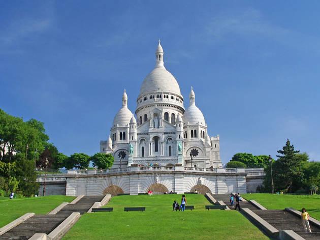 Basilique du Sacré Coeur, Montmartre, 75018 Paris, Ile-de-France