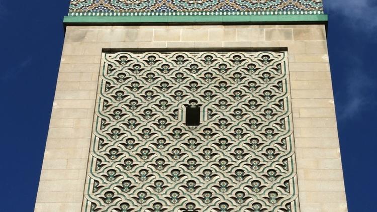 Grande Mosquée de Paris, dans le Ve arrondissement.