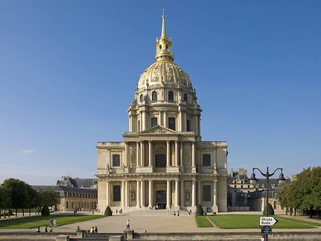 Chapelle des Invalides, tombeau Napoléon, dans le VIIe arrondissement de Paris.
