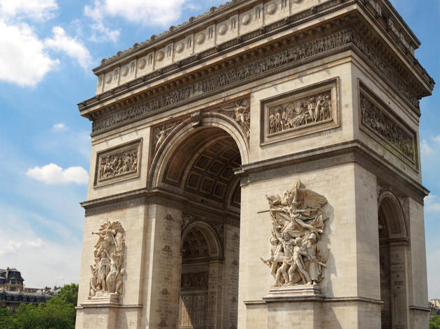 Arc de Triomphe, 75008 Paris, Ile-de-France