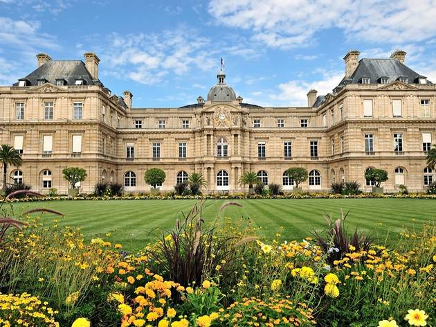 Palais du Luxembourg, dans le VIe arrondissement de Paris, Ile-de-France.