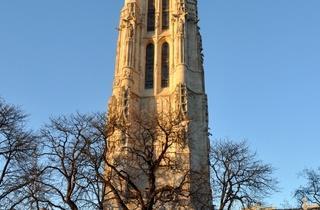 La Tour Saint-Jacques, dans le IVe arrondissement de Paris, Ile-de-France.