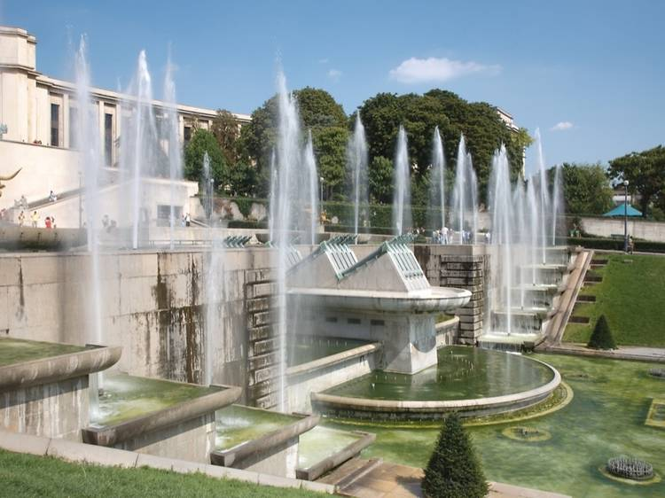 Art deco architecture and gardens