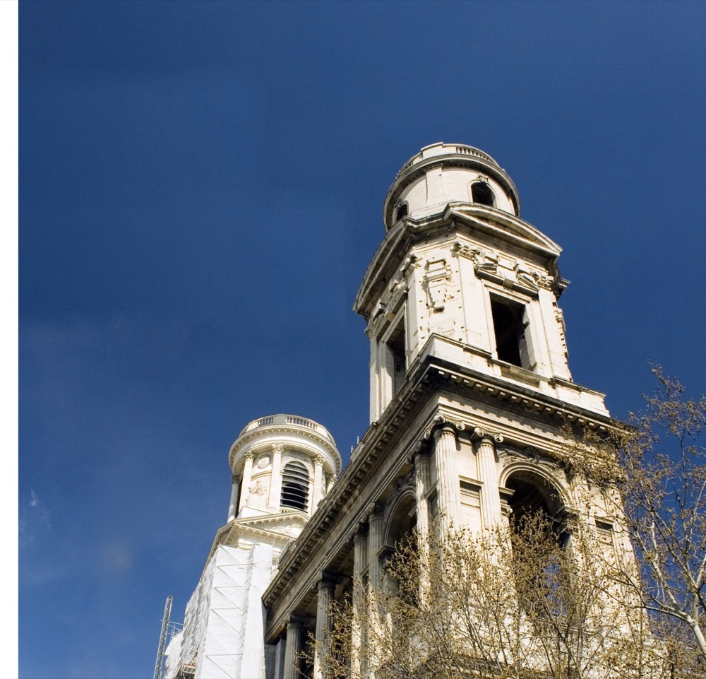 Eglise Saint-Sulpice, place Saint-Sulpice, 75006 Paris, Ile-de-France