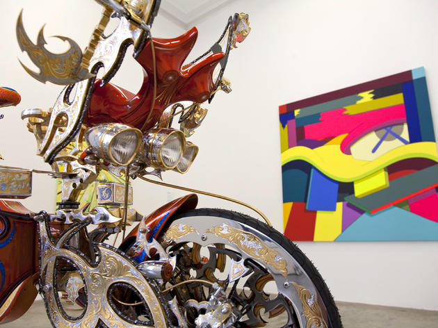 Make like the cool kids at Galerie Emmanuel Perrotin