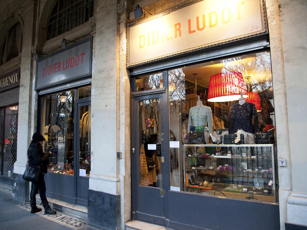 Try on vintage couture at Didier Ludot