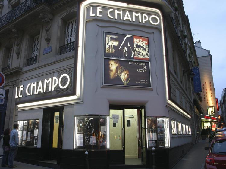 Tournée des cinémas dans le Quartier latin