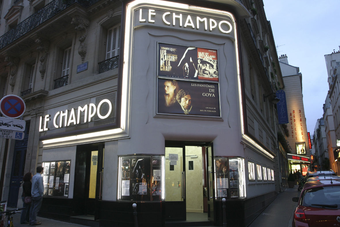 Image result for paris movie theater 1960s