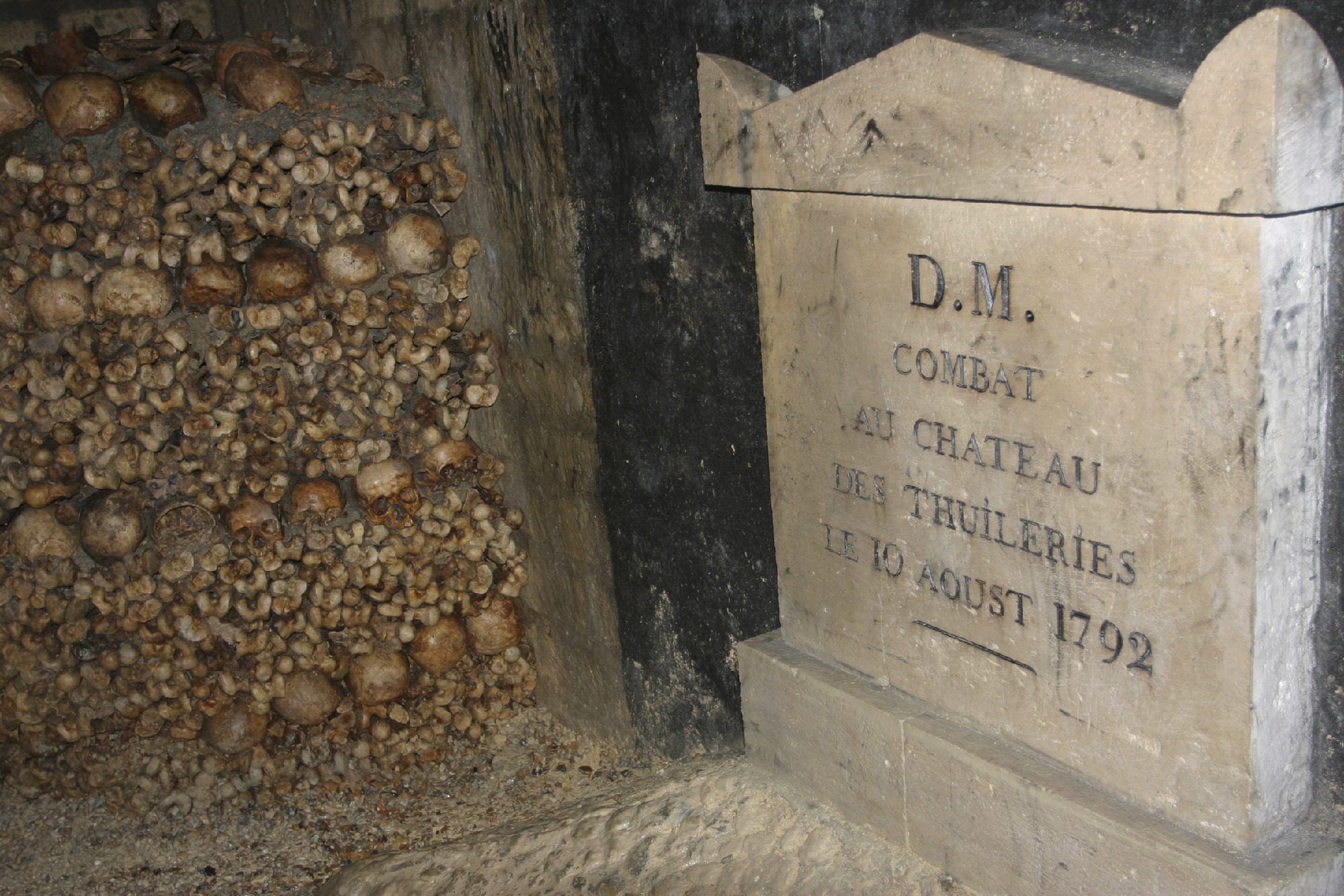 Dig deep at Les Catacombes