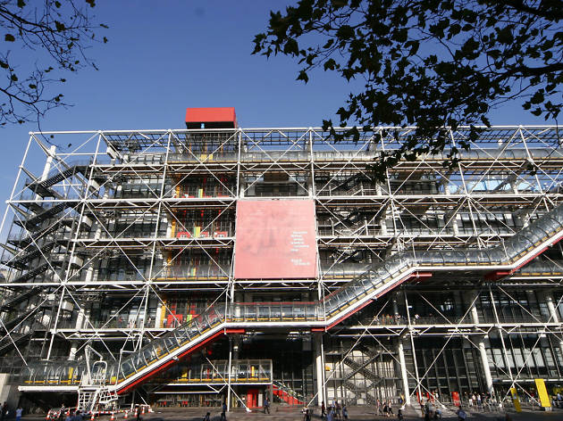 the centre pompidou museums in 4e arrondissement paris