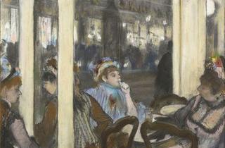 Edgar Degas, Femmes à la terrasse d'un café