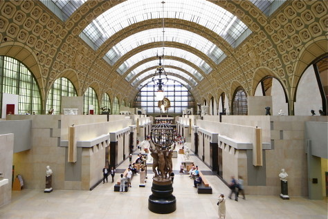 Be impressed by the Musée d'Orsay