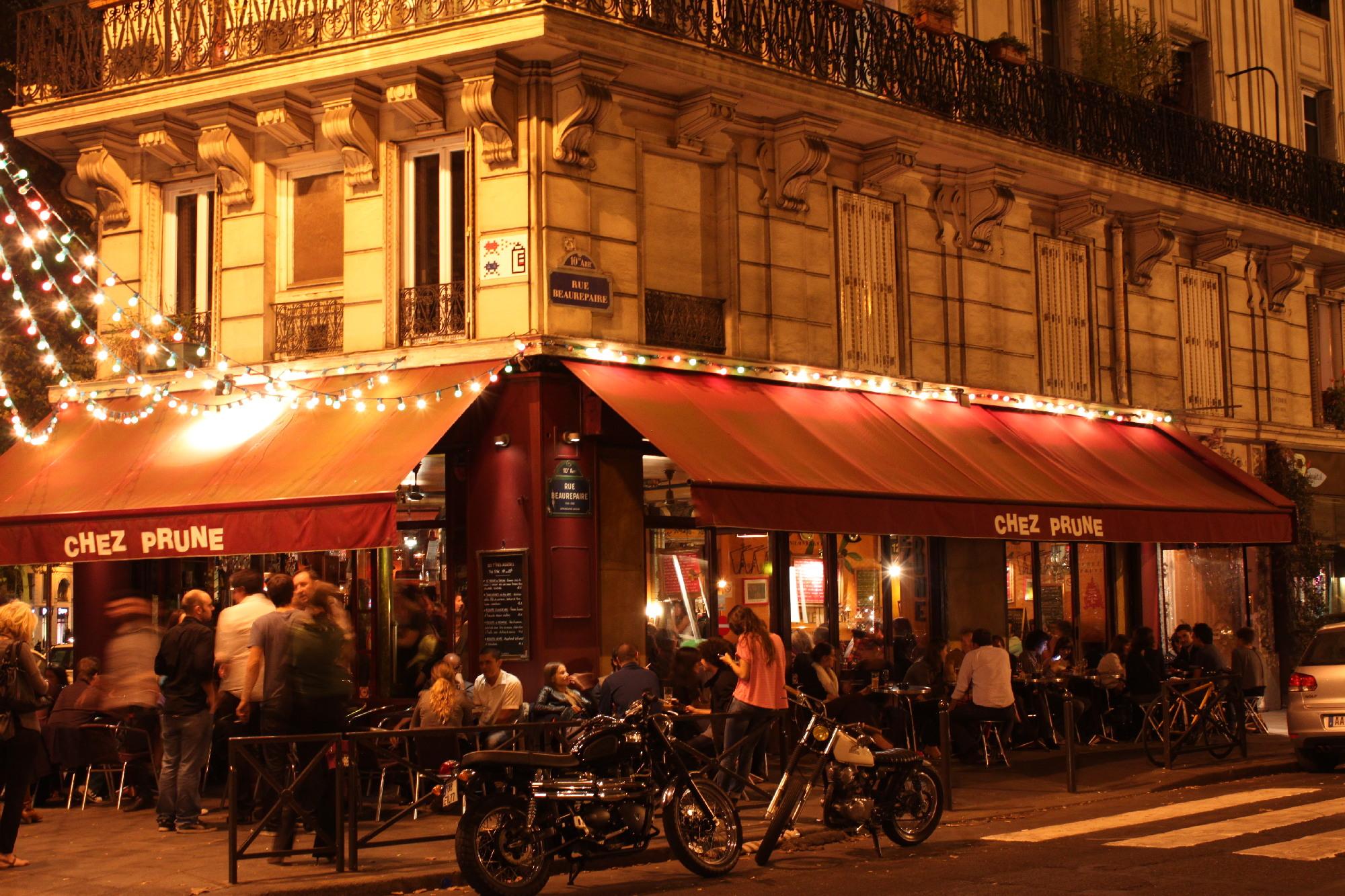 Cafe Bar Rue De Lancry La Petite