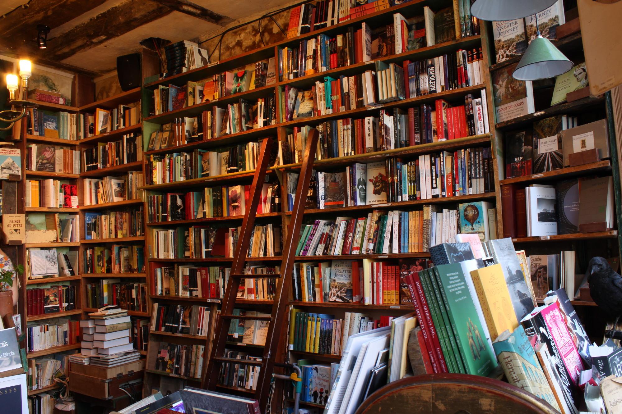 Tournée des librairies