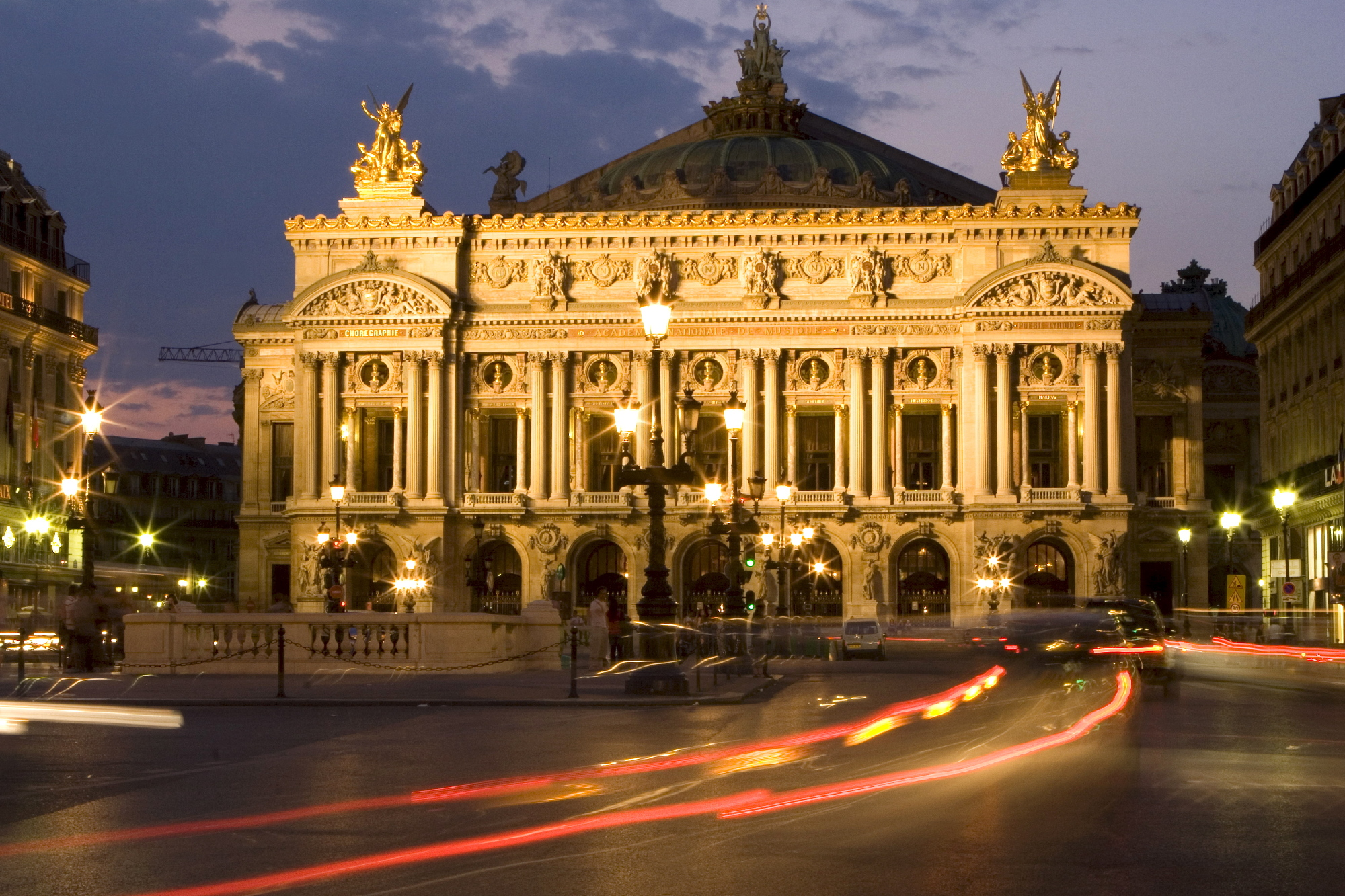 Take in classical ballet at Palais Garnier