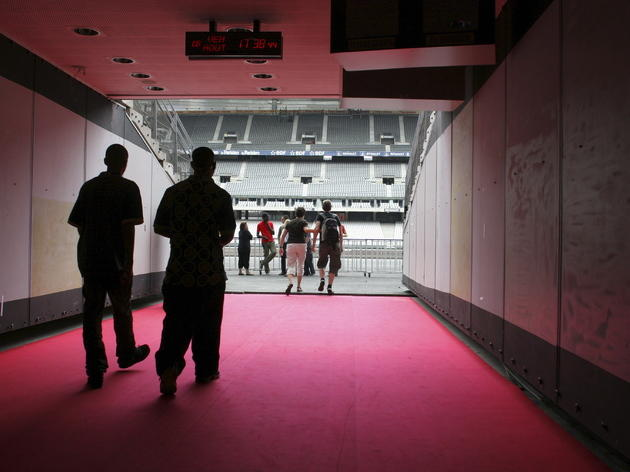 Follow in famous footsteps at the Stade de France