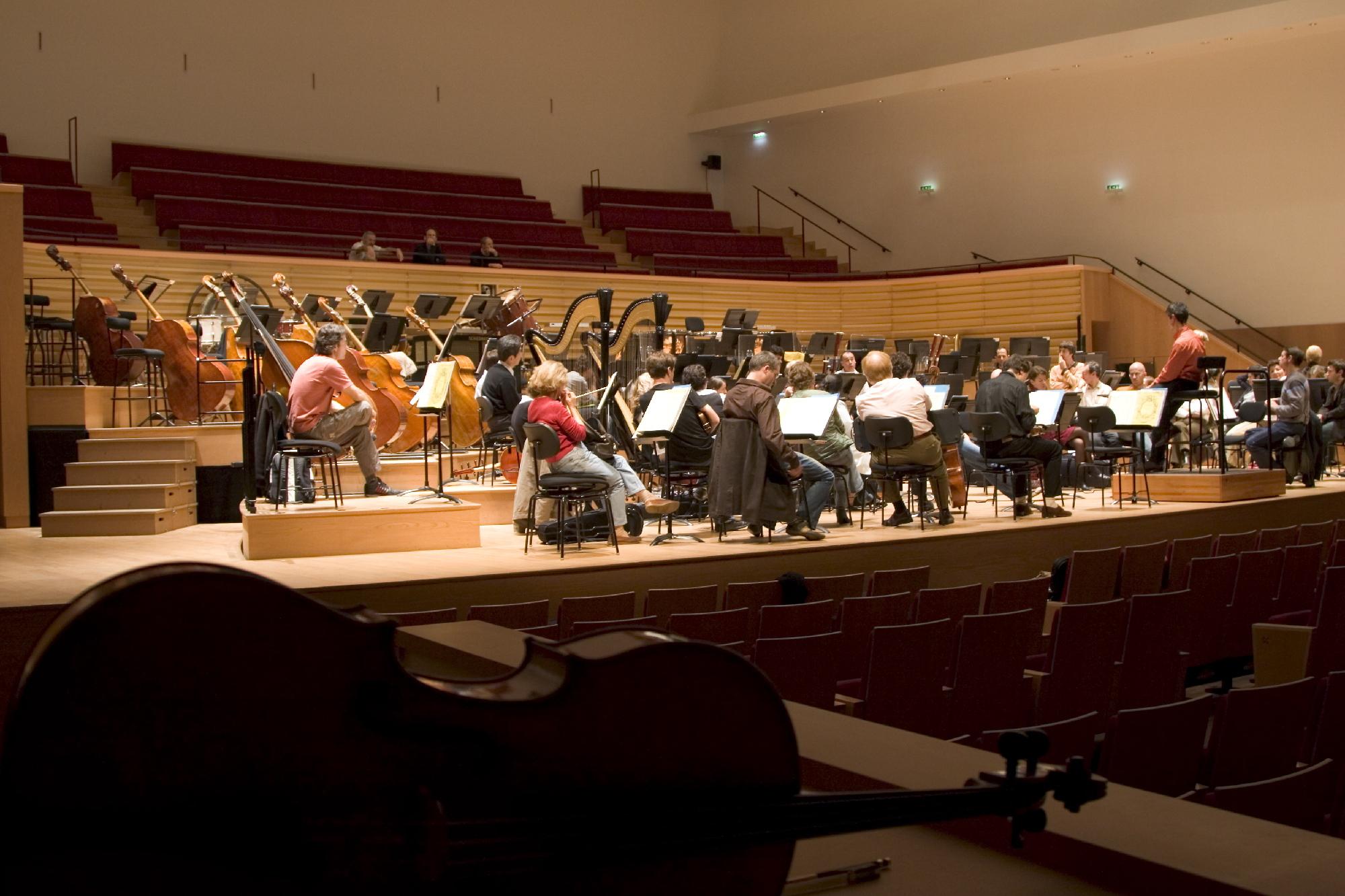 Musique classique à la Salle Pleyel