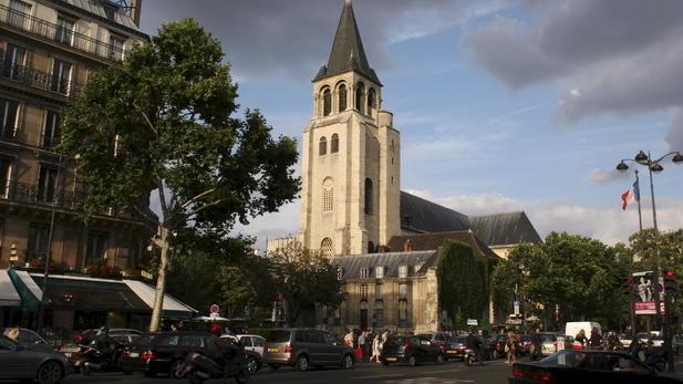 Saint-Germain-des-Prés, Церкви Парижа, достопримечательности Парижа, Париж, путеводитель по Парижу, что посмотреть в Париже
