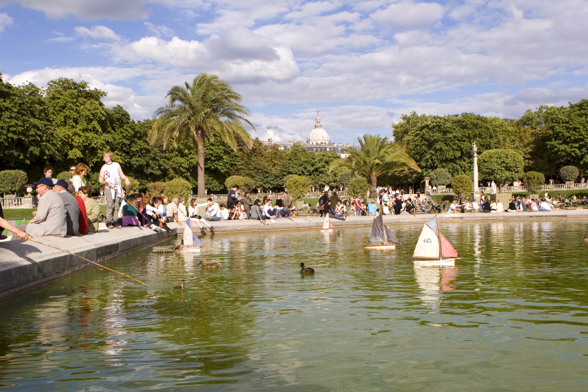 Guide par quartier 6e arrondissement for Piscine jardin du luxembourg