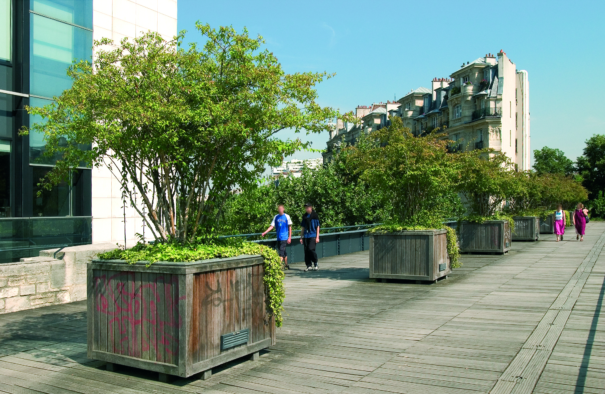 La coul e verte promenade plant e things to do in - Bureau change bastille ...