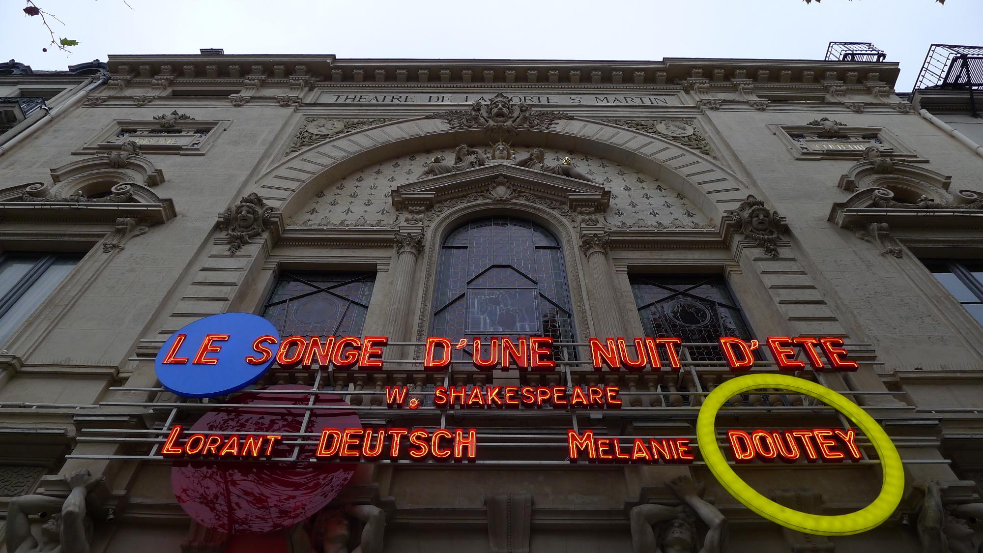 Théâtre Porte-Saint-Martin
