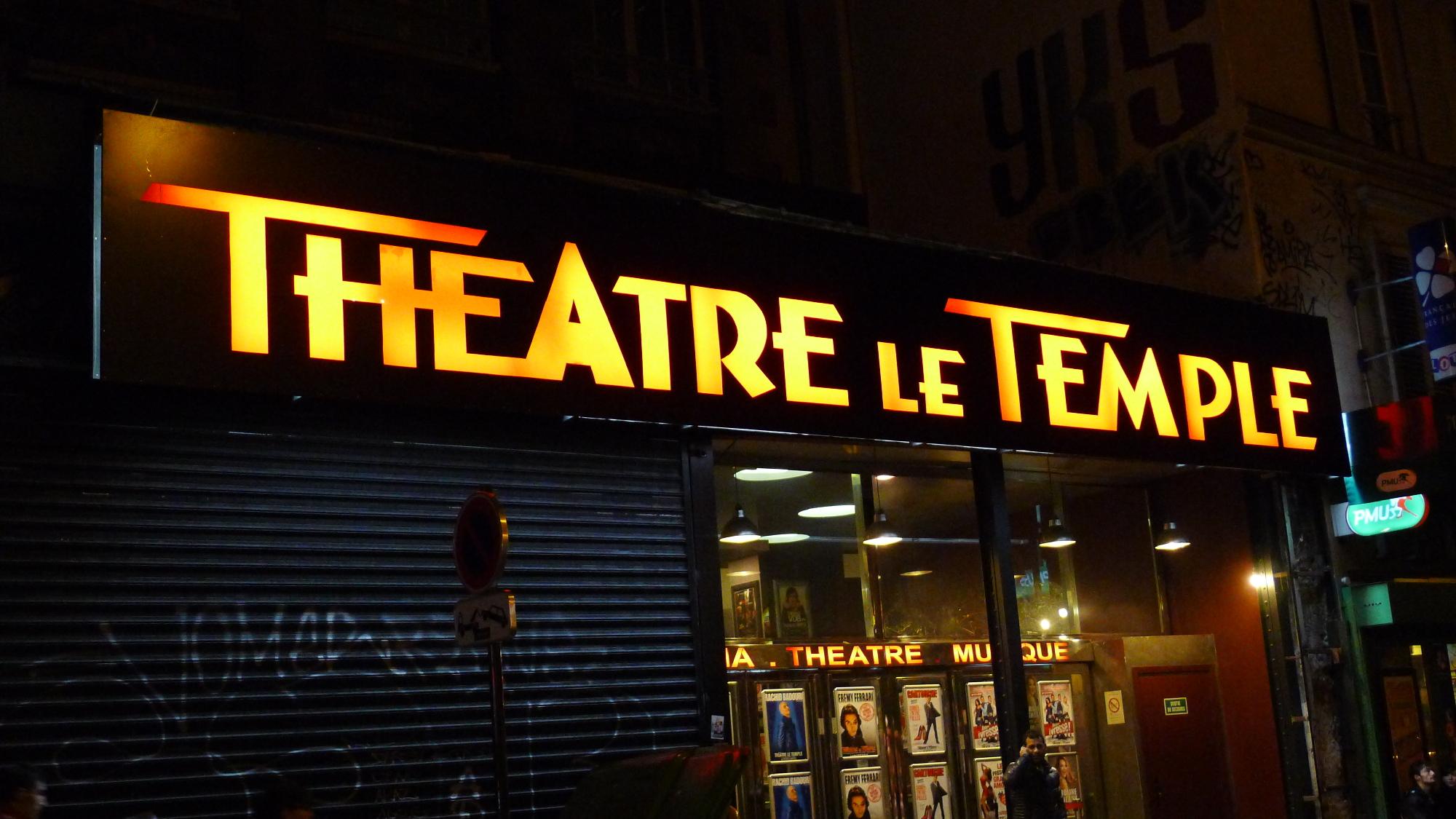 Humour • Théâtre Le Temple