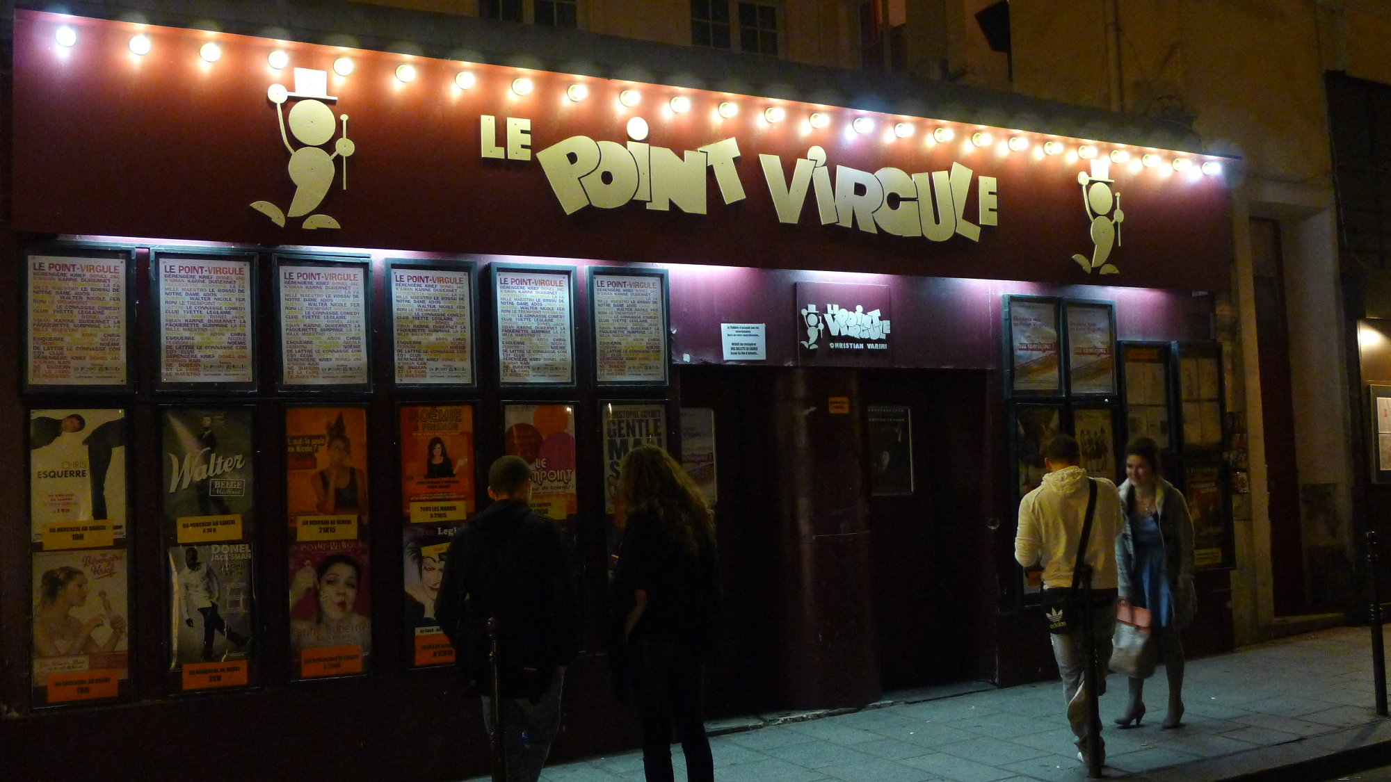 Stand-up au Point Virgule
