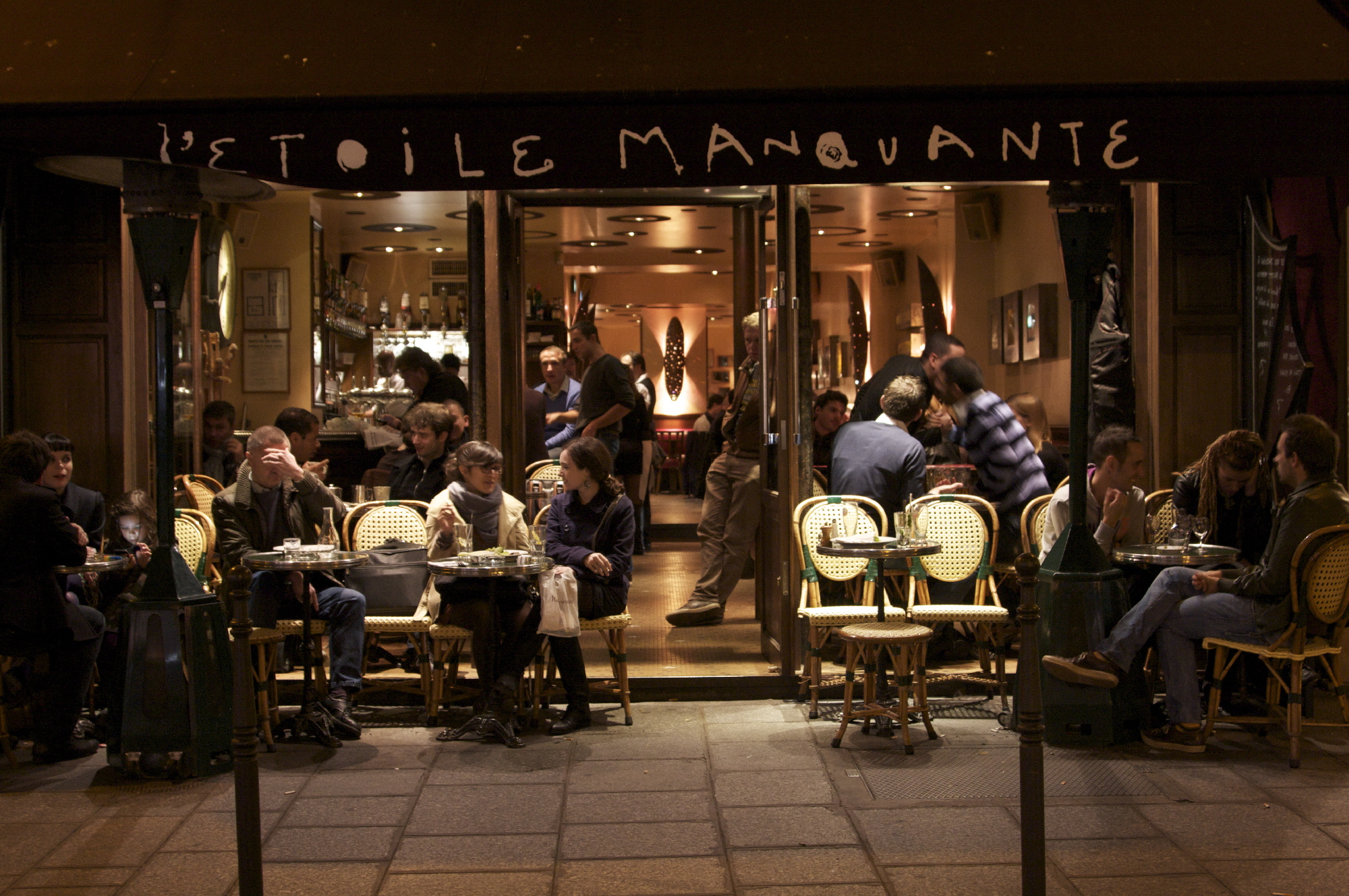 Bars and pubs in The Marais