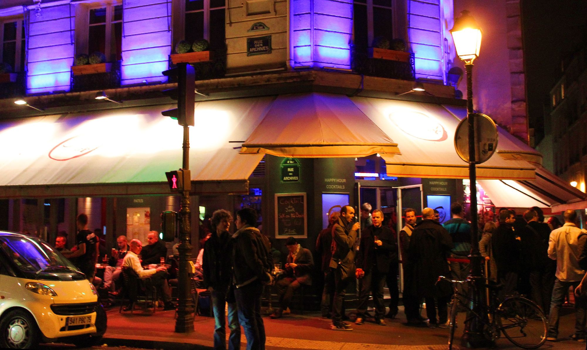 where gay clubs operate openly and LGBT