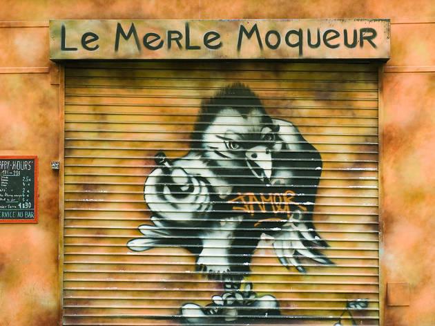 Merle Moqueur