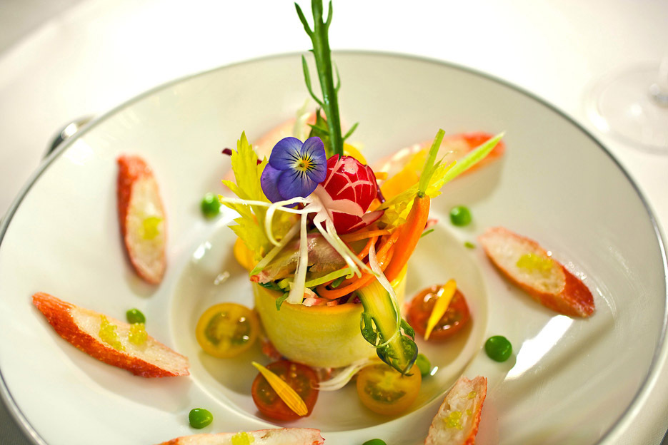 Michelin starred restaurants in paris restaurants time for French starters vegetarian