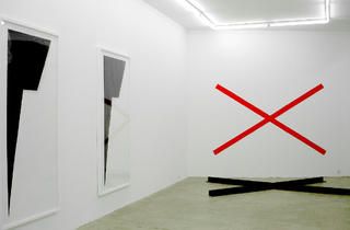 (Vue de l'exposition d'Emilie Ding, 2011 / © Tania Brimson / Time Out)
