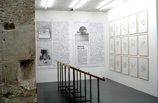 (Vue de l'exposition de Franz Erhard Walther, novembre 2011 / © Tania Brimson / Time Out)