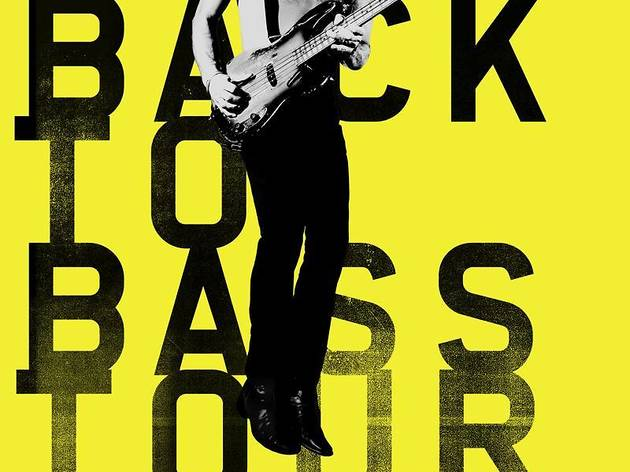 "Sting : ""Back to bass tour"""