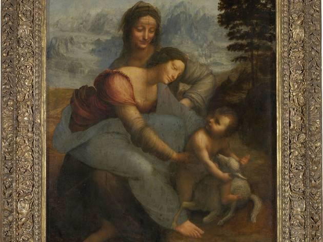La 'Sainte Anne', l'ultime chef-d'œuvre de Léonard de Vinci