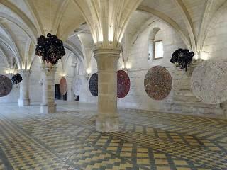 Salle des Religieuses, vue de l'exposition d'Emmanuel Villard