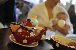 Poussette Café
