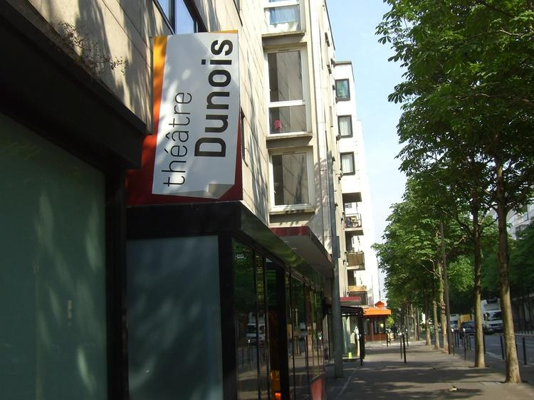 Lever de rideau au Théâtre Dunois