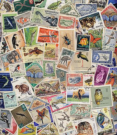 Marché aux timbres