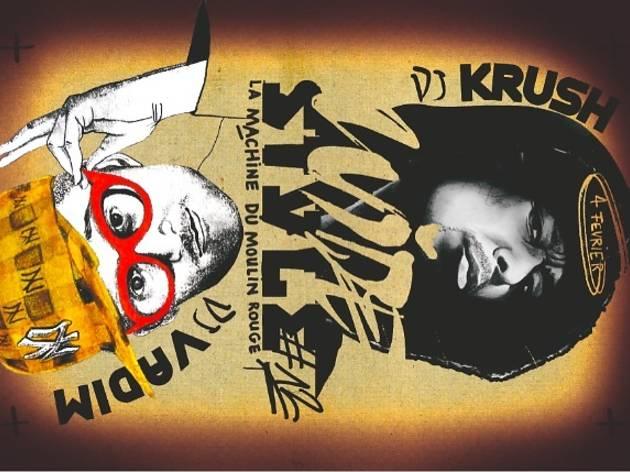 Wide Style 12 : DJ Krush vs DJ Vadim