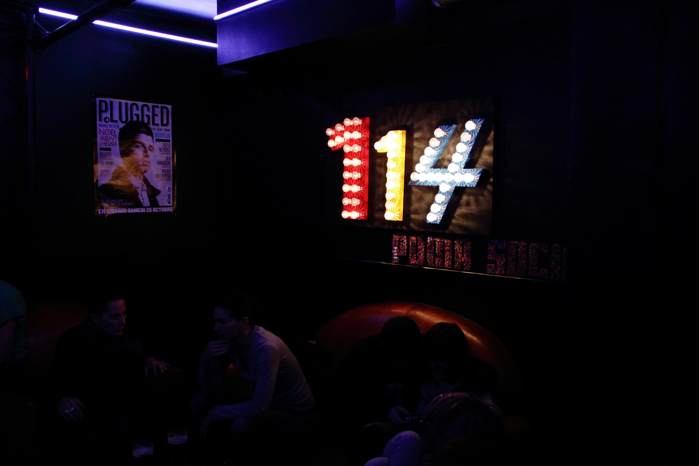 Café-concert • Le 114
