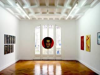 Vue de l'exposition de Georges Tony Stoll, décembre 2011