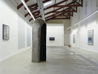 Vue de l'exposition 'L'Île de Morel', 2007