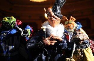 Puppetmastaz + Bonaparte