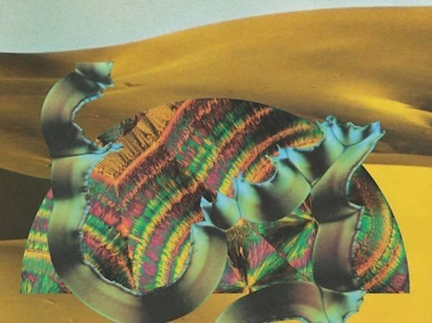 Django Django, pochette de l'album 'Because'
