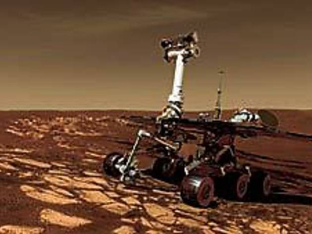 LIFE ON MARS? Inquiring rovers want to know.